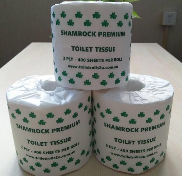 Toilet Paper Carton of 48 Rolls