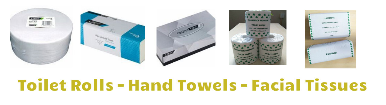 Toilet Rolls Hand Towels Tissues